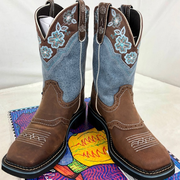 1d3365281a5 Justin Cowgirl Boots Gypsy L9950 Worn Once EUC